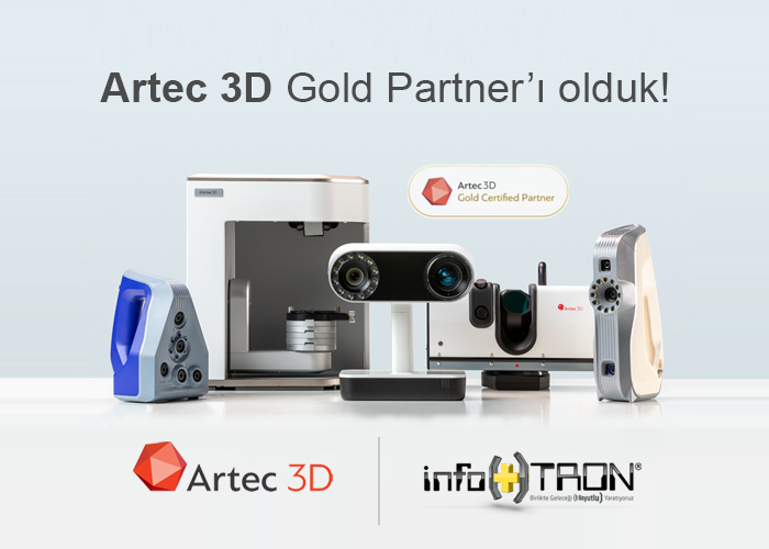 Artec3D Gold Partner