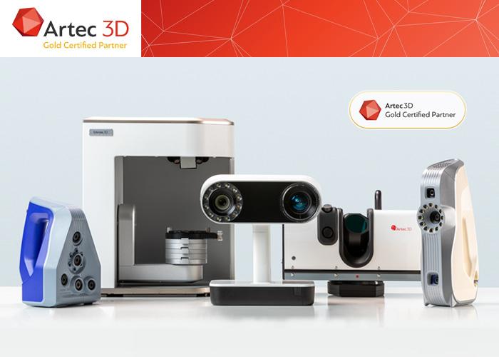 3D Tarama alanındaki uzmanlığımız ve tecrübemiz ile, Artec 3D'nin Dünya'da sayılı Gold Partner'leri arasındayız.