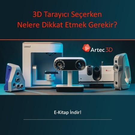 3D Tarayıcı Seçerken Nelere Dikkat Etmek Gerekir?